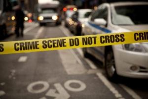 crime scene in Dallas, TX